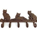 Pendurador/Cabideiro 3 (Três) Gatos