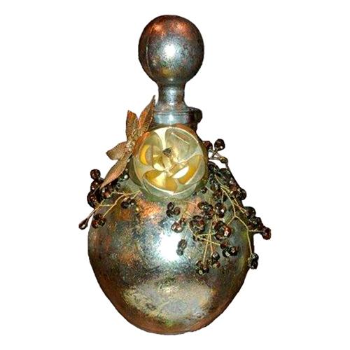 Perfumeiro Bride Prata em Vidro - 12x8 cm