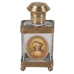 Perfumeiro Decorativo Realeza em Vidro - 12x6 cm
