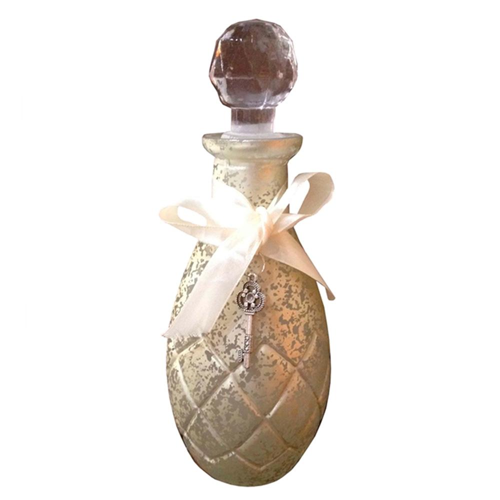 Perfumeiro Fuji Golden em Vidro - 20x10 cm