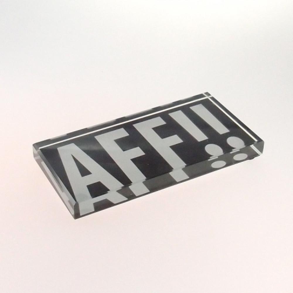 Peso de mesa AFF!