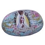 Peso de Papel Nossa Senhora de Fátima em Vidro