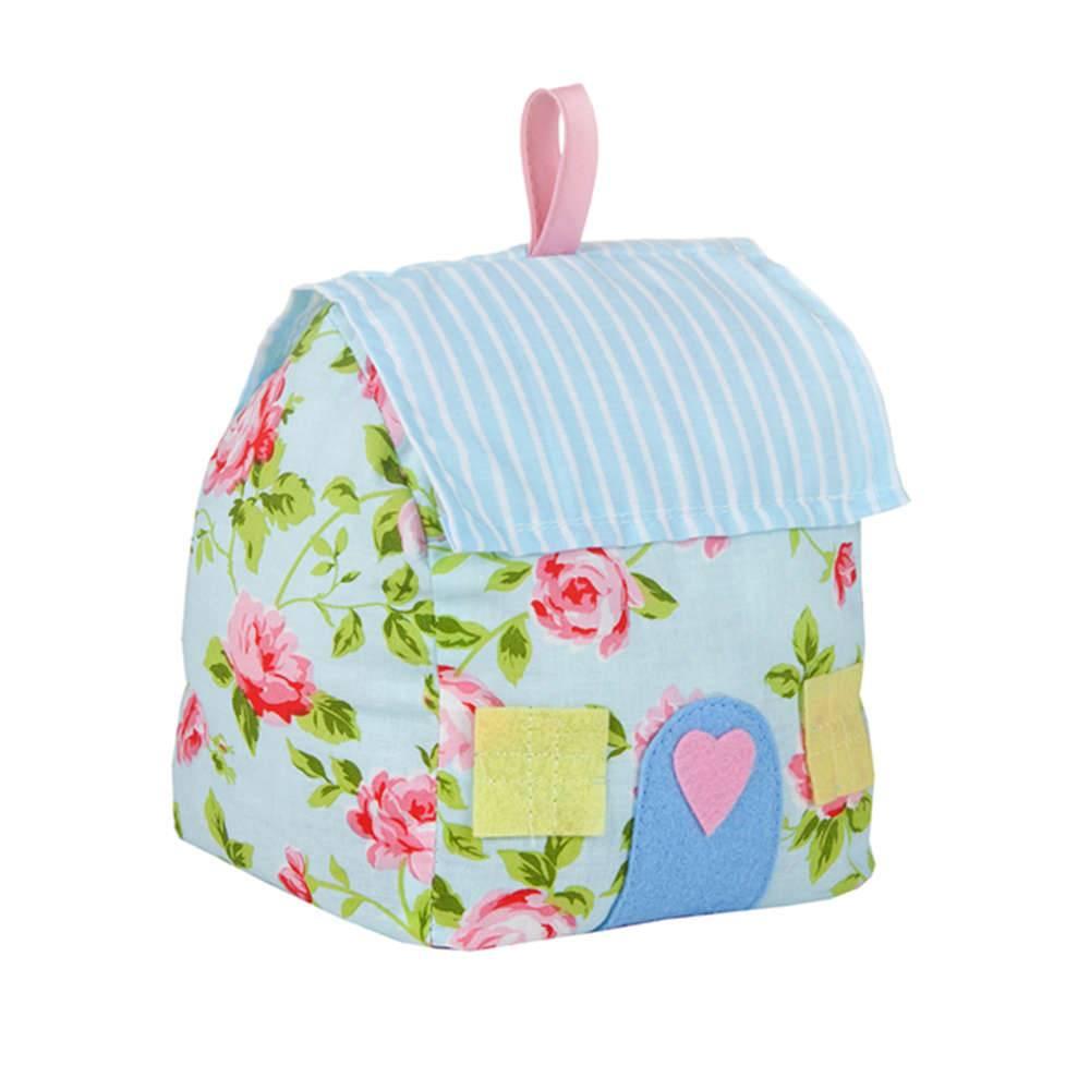 Peso Para Porta Romantic Flowers Cover Colorido em Algodão - Urban - 15x13 cm