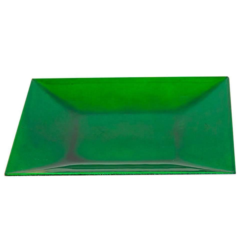 Petisqueira Asion Verde em Resina - 17x17 cm