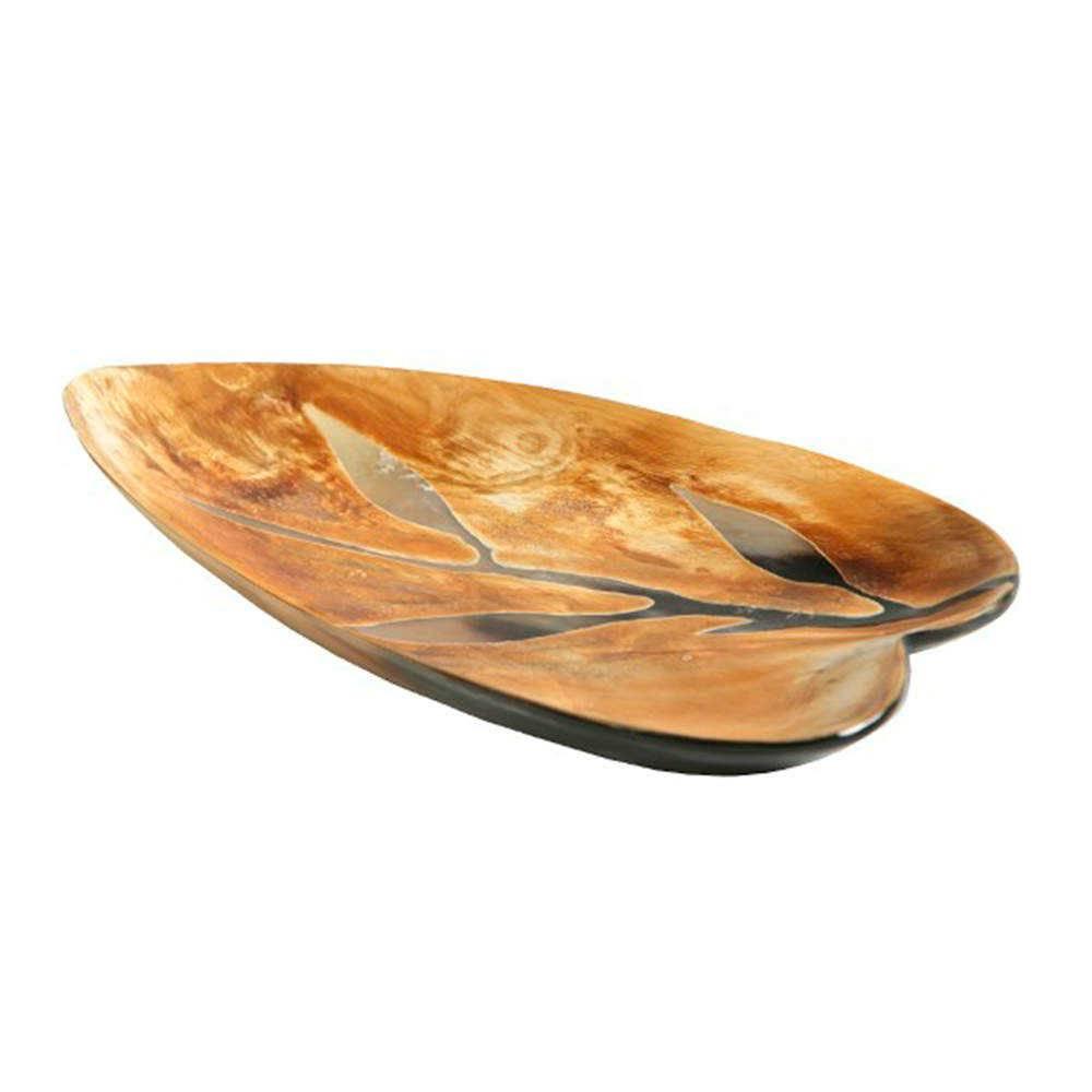 Petisqueira Foglio em Osso - 23x16 cm