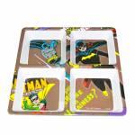 Petisqueira Quadrada DC Comics Batgirl Marrom em Melamina - Urban - 21,5 x 21,5 cm