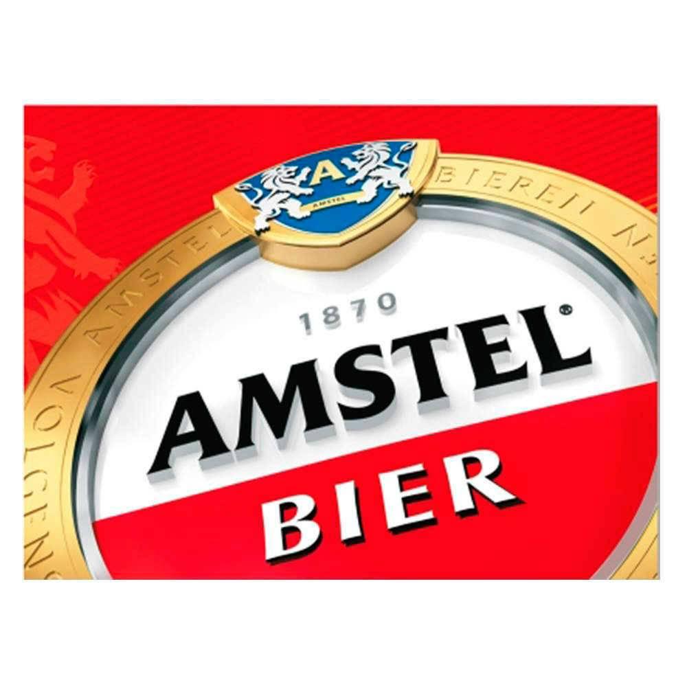 Placa Decorativa Amstel Bier