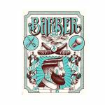 Placa Decorativa Barber Shop