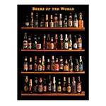 Placa Decorativa Beers Of The World Média