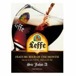 Placa Decorativa Cerveja Leffe com Impressão Digital em Metal - 30x20 cm