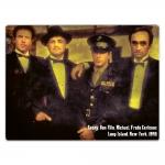 Placa Decorativa Família Corleone Grande em Metal - 40x30 cm