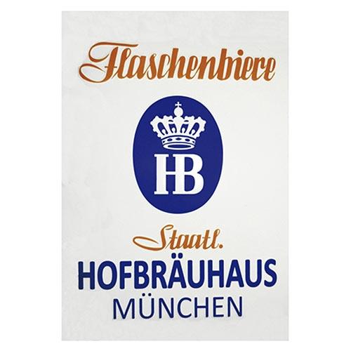 Placa Decorativa Flaschenbiere Média em Metal - 30x20cm