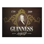 Placa Decorativa Guinness Grande em Metal - 40x30cm