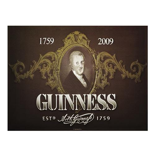 Placa Decorativa Guinness Média em Metal - 30x20cm