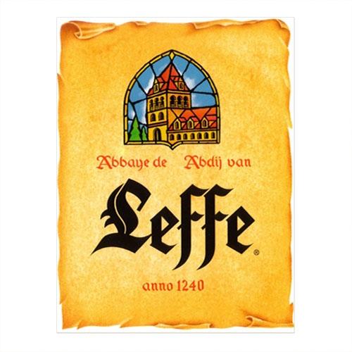 Placa Decorativa Leffe Grande em Metal - 40x30 cm