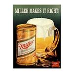 Placa Decorativa Miller Caneco Média