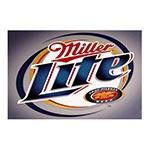 Placa Decorativa Miller Lite Grande em Metal - 40x30cm