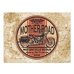 Placa Decorativa Mother Road Média