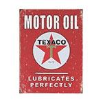Placa Decorativa Motor Oil Texaco Grande