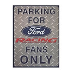 Placa Decorativa Parking For Ford Média