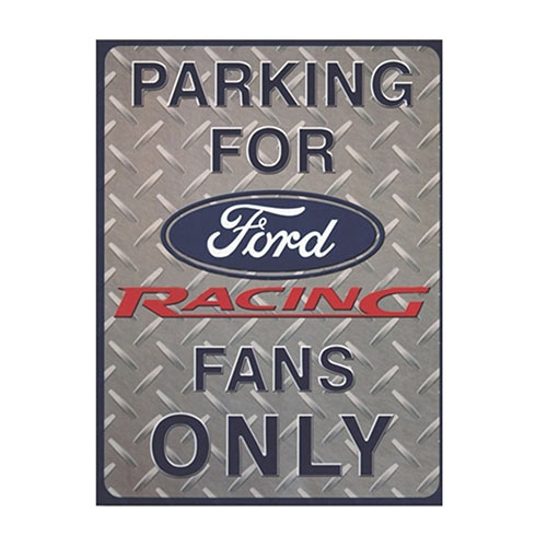 Placa Decorativa Parking For Ford Média em Metal - 30x20cm