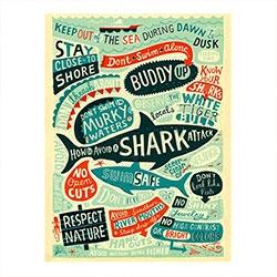 Placa Decorativa Tubarão Vintage Grande R$ 129,98 R$ 93,98 1x de R$ 84,58 sem juros