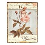 Placa Garden Oldway - Metal