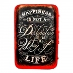 Placa Happiness Is Not A Destination It Is A Way Life