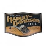 Placa Harley Davidson óleo