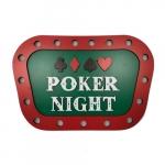 Placa MDF 3D poker