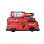 Placa MDF kombi Budweiser