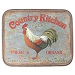 Placa de Metal Country Kitchen Oldway