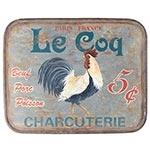 Placa de Metal Galo Le Coq Oldway