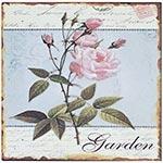 Placa de Metal Garden Oldway - 25x25 cm