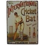 Placa de Metal International Cricket Oldway