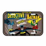 Placa de Parede DC Comics Meet the Batgirl Marrom em Metal - Urban - 30x15 cm
