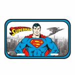 Placa de Parede DC Comics Superman Detroit City em Metal - Urban - 30x15 cm