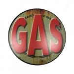 Placa redonda gas
