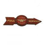 Placa seta flying service