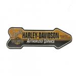 Placa seta Harley Davidson