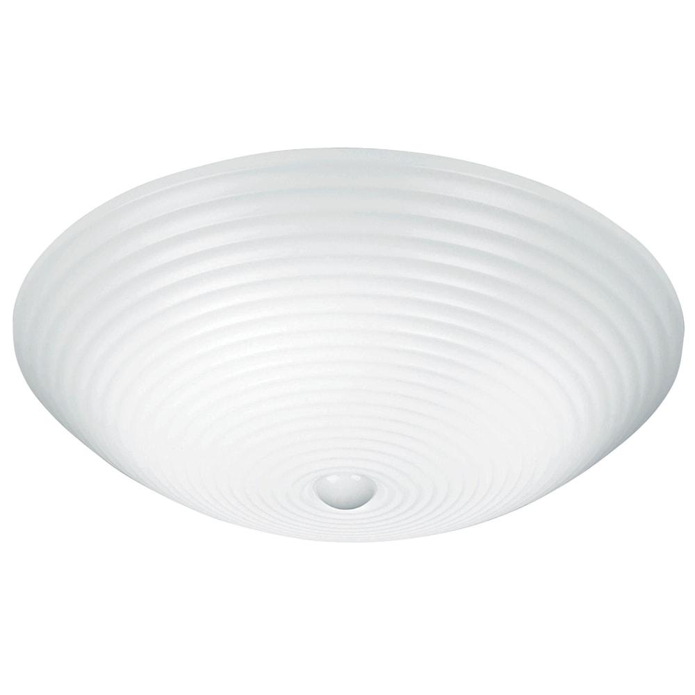 Plafon Classic Branco - Bivolt - em Acrílico - 60x15 cm