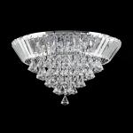 Plafon Top Diamonds Translúcido - Bivolt - em Metal/Cristal
