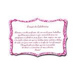 Plaquinha Oração da Cabeleireira - 27x18 cm