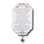 Plaquinha Oração do Advogado - 29x18 cm