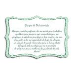 Plaquinha Oração do Nutricionista - 27x18 cm
