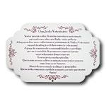 Plaquinha Oração do Veterinário - 29x18 cm