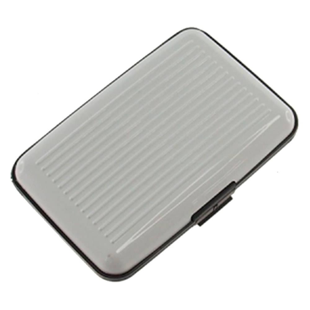 Porta Cartão Branco Dezz Ondulado - 12x8 cm