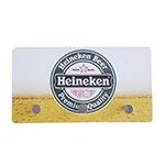 Porta Chaves de Metal Heineken Chopp - 3 Pinos - 15x8 cm