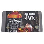 Porta Chaves de Metal Jack Daniels - 3 Pinos - 15x8 cm