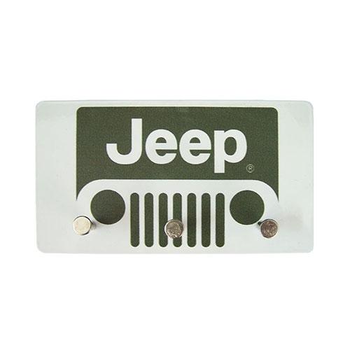 Porta Chaves de Metal Jeep Grande - 14,5x8 cm